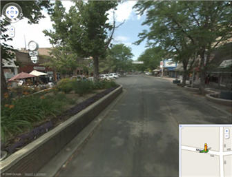 Google Street View of downtown Grand Junction, CO