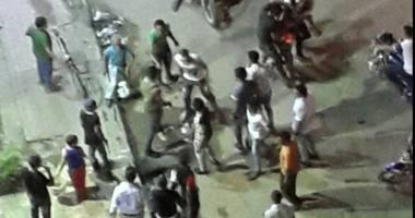 الأمن يسيطر على مشاجرة بالأسلحة بسبب ركن سيارة بحلوان وإصابة 6 أشخاص.