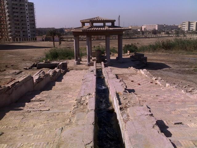 عين حلوان أحد معالم حلوان.. وواحدة من أشهر العيون المائية في مصر