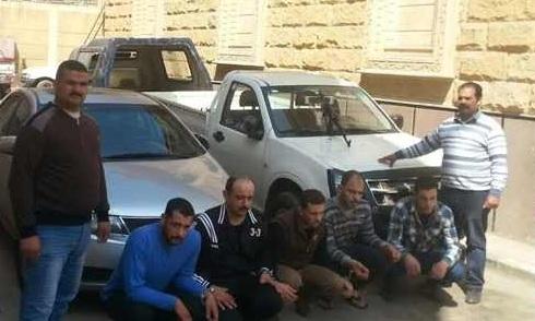 سقوط عصابة سرقة بطاريات السيارات في حلوان