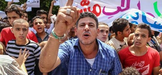 غضب معلمي حلوان بسبب تأجيل امتحانات الثانوية العامة