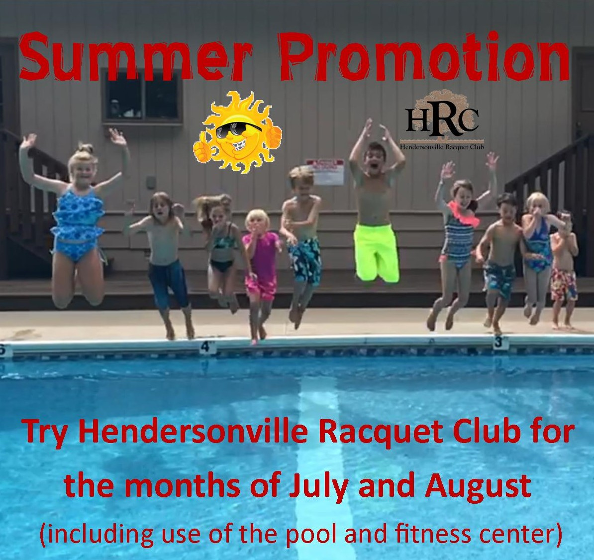 Summer Pool and Fitness Promotion