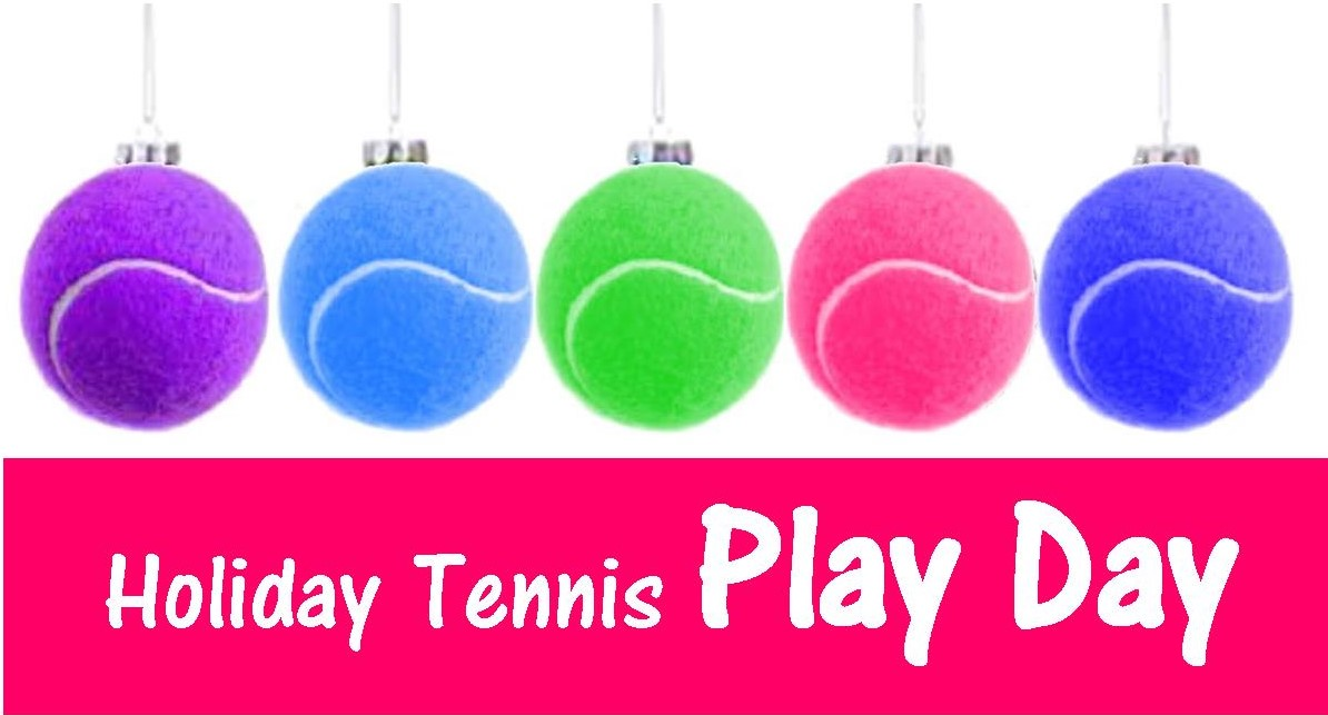 Junior Holiday Tennis Play Day Sunday December 18th