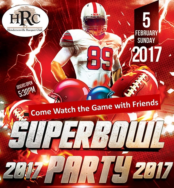 Superbowl Watching Party Sunday February 5th