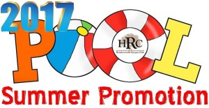 2017 HRC Summer Pool and Fitness Promotion logo