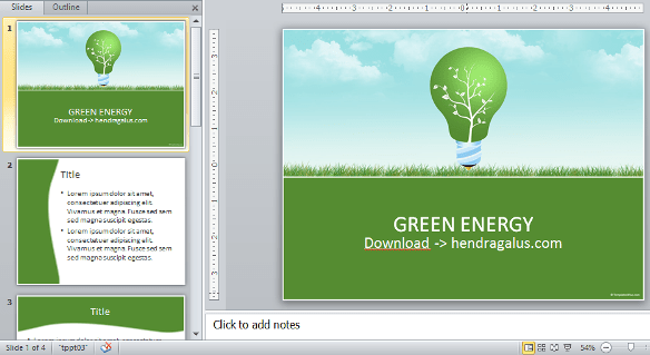 download template powerpoint, ppt, hijau, green,
