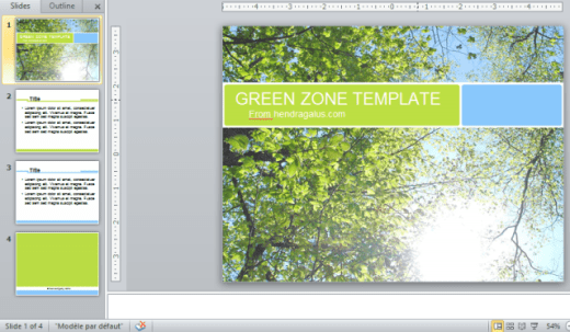 download template powerpoint, ppt, hijau, hutan, pohon