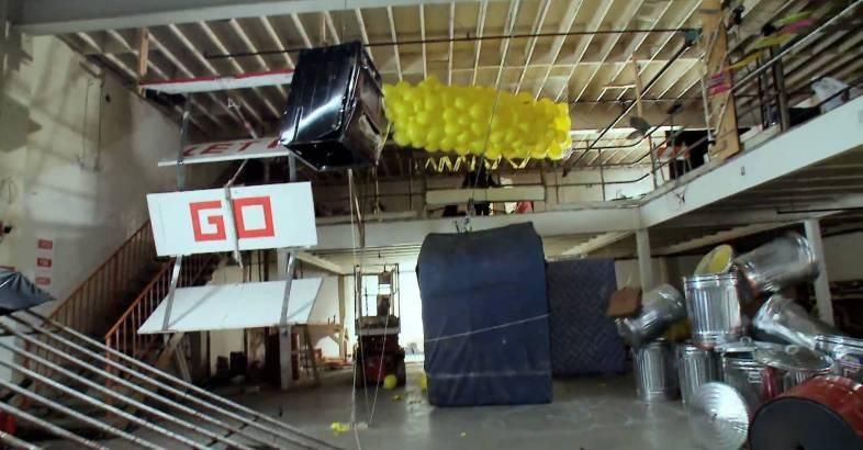 """OK Go: """"This Too Shall Pass"""" – The Most Amazing Rube Goldberg Machine"""