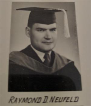 Dad on graduation from medical school