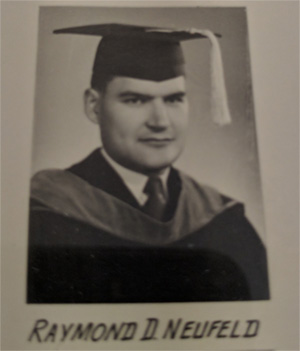 Dad on graduation from medical school