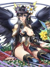 Black Hair Hentai Porn Drawing 11
