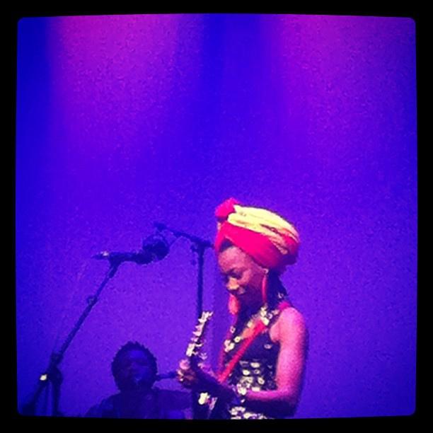 Fatoumata Diawara på Dunkers