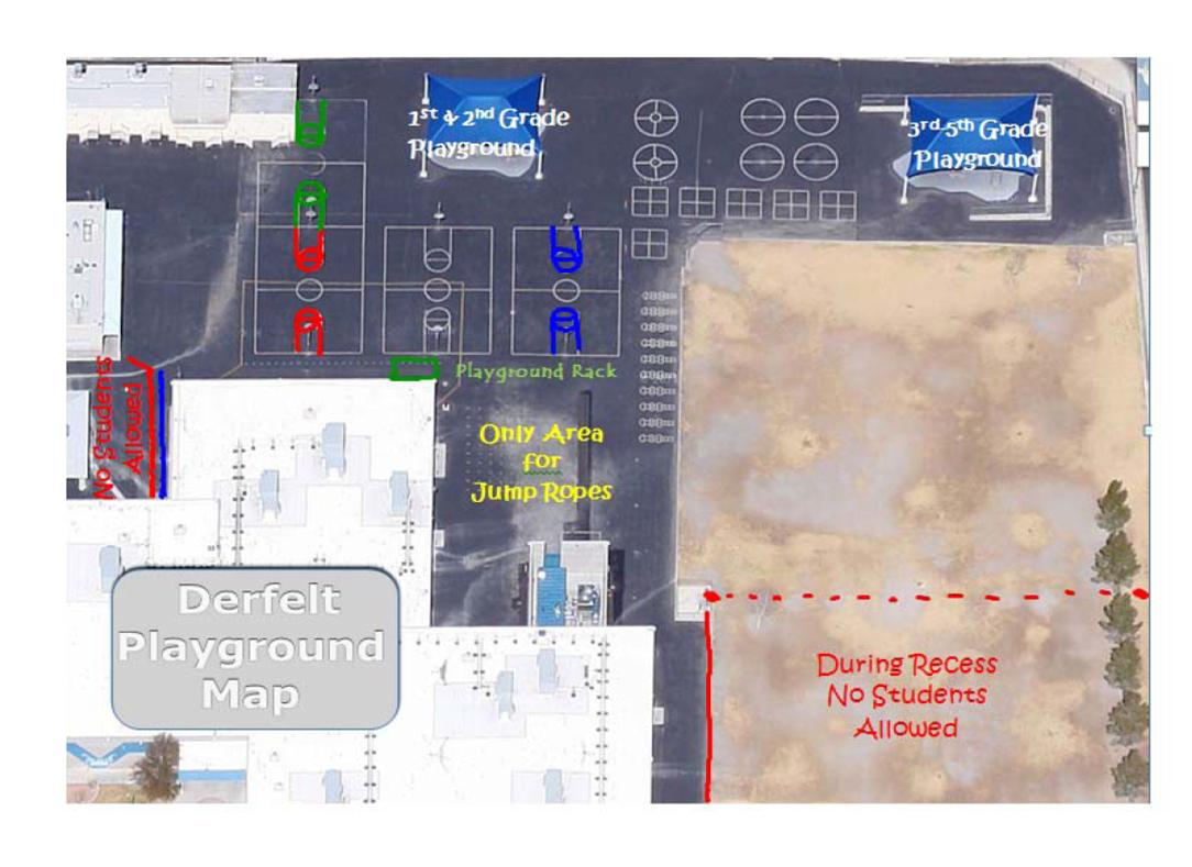 PE   Derfelt E S   465 Picture  Playground Map