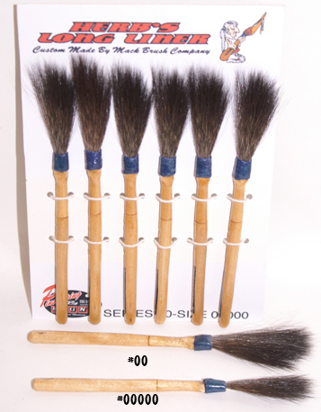Longliner Brushes - Herb Martinez Pinstriping