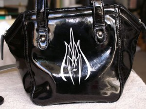 purse Special Pinstriping & Sign Painting Projects by Herb Martinez, Livermore, CA. Serving the San Francisco Bay area.