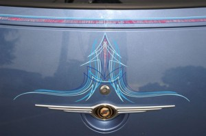 Pinstriping by Herb Martinez