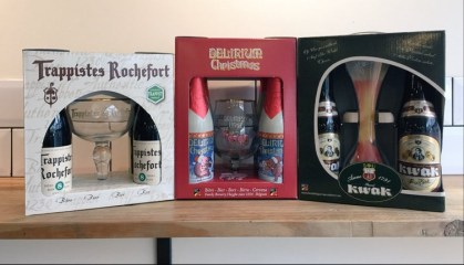 Belgian breweries gift packs
