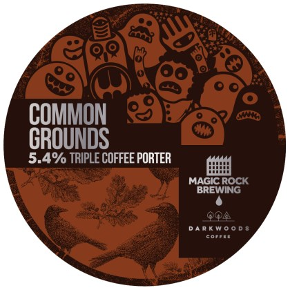 Common Grounds, Triple Coffee Porter, 5.4%