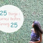 25 things learned before 25