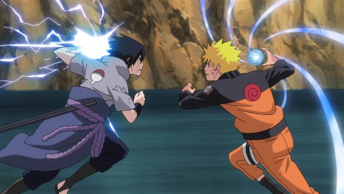 naruto shippuden naruto vs sasuke