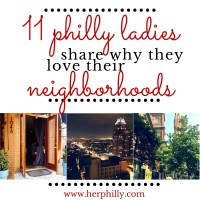 11 Philly Ladies Share Why They Love Their Neighborhoods