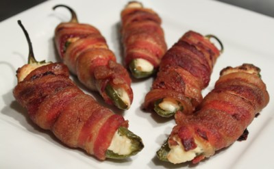 Bacon-Wrapped Jalapeno Poppers – Her View From Home
