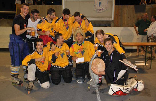 La festa dell'inline hockey