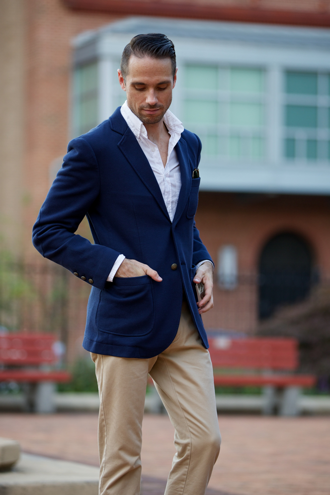 Brooks Brothers Patch Pocket Blazer