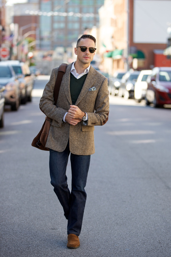 Fall Essentials: The Tweed Blazer