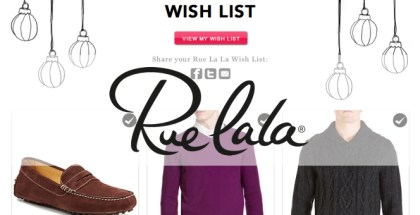 Rue La La Wish List - He Spoke Style