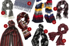 Scarves for the Season - He Spoke Style