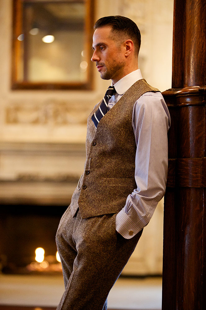 Tweed Waistcoat and Pants