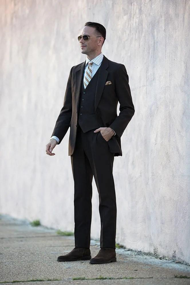 Vintage YSL Suit - He Spoke Style