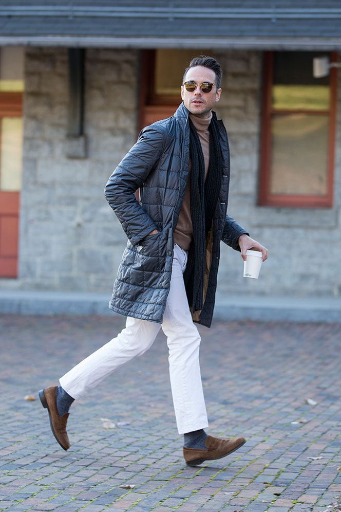 Quilted Topcoat - He Spoke Style