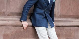 Suitsupply Blazer and Loafers - He Spoke Style