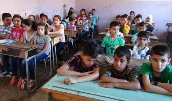 Школа в Африне