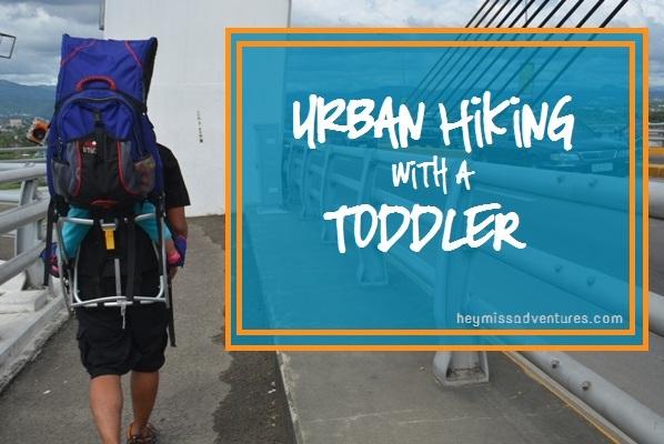 urban hiking with a toddler, cebu