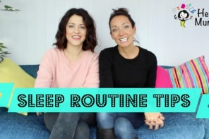Our Sleep Routine Tips with Pampers