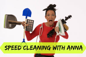 Speed cleaning – The Latest YouTube Craze