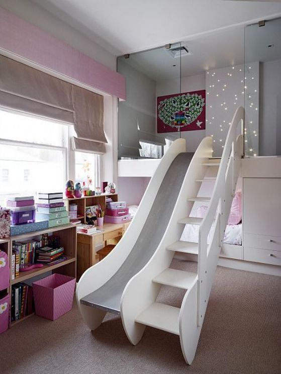 habitaciones modernas para niños