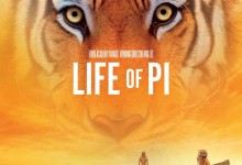 Life of Pi Poster 220x150 New Featurette for Ang Lee's Life of Pi – 'Creating Richard Parker'