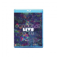 Coldplay Live 2012 Blu ray CD Cover 585x585 Coldplay Live 2012 – Blu ray / CD Review