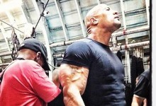 Dwayne Johnson on set of Fast and Furious 6  e1353105862442 220x150 New Photos from the Set of Fast and Furious 6