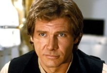 Harrison Ford as Han Solo in Star Wars