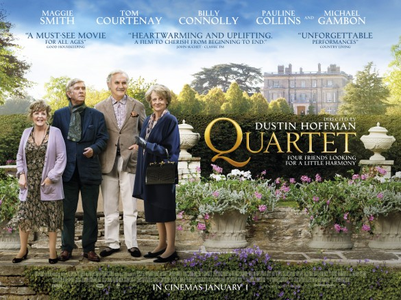 Quartet UK Poster 585x438 Exclusive: New UK Poster for Dustin Hoffmans Quartet