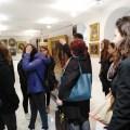 Istantanea della visita della scuola al Museo della Comunità Greco-Orientale di Trieste.