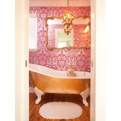 Mutable Bathroom Pink Decorating Ideas Pink Rooms Decorating Design Blog Victorian Kitchen Wallpaper Border Victorian Style Kitchen Wallpaper