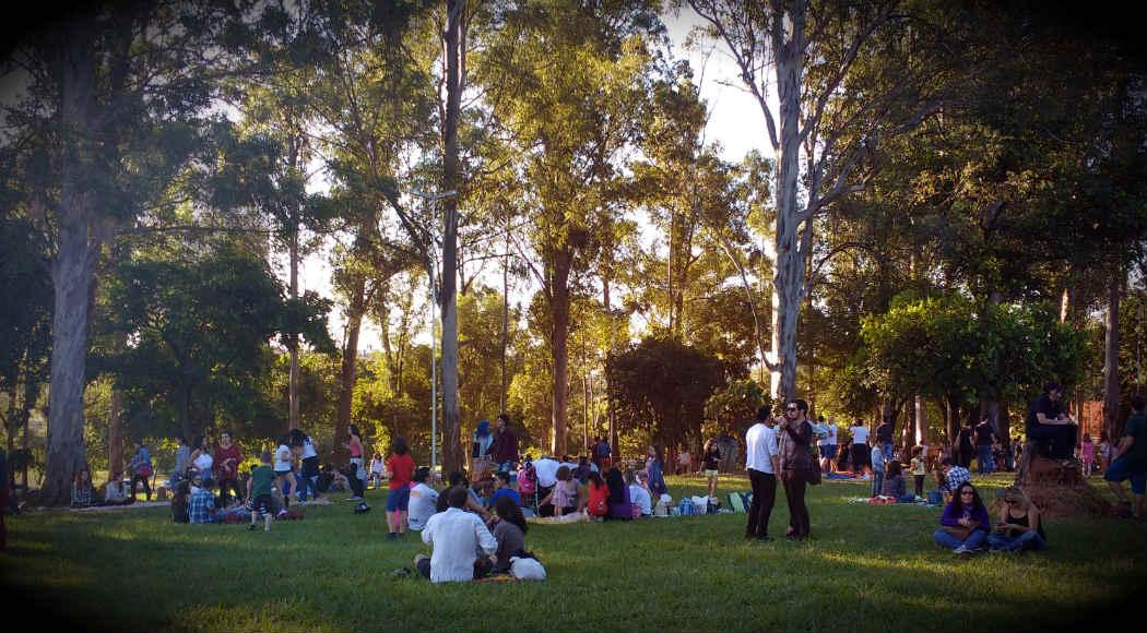 fotos jardim cultural:Jardim Cultural sai da praça Braile e vai para a praça Cacilda
