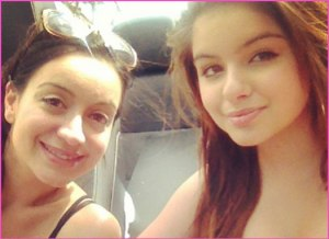 ariel winter and shanelle gray