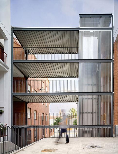 Af6 arquitectos intervenci n en espacios comunes de - Arquitectos de sevilla ...